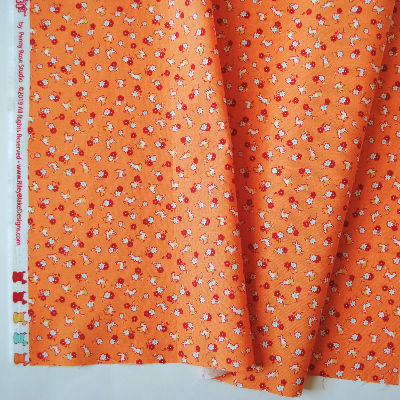 Storytime 30s Animals Orange