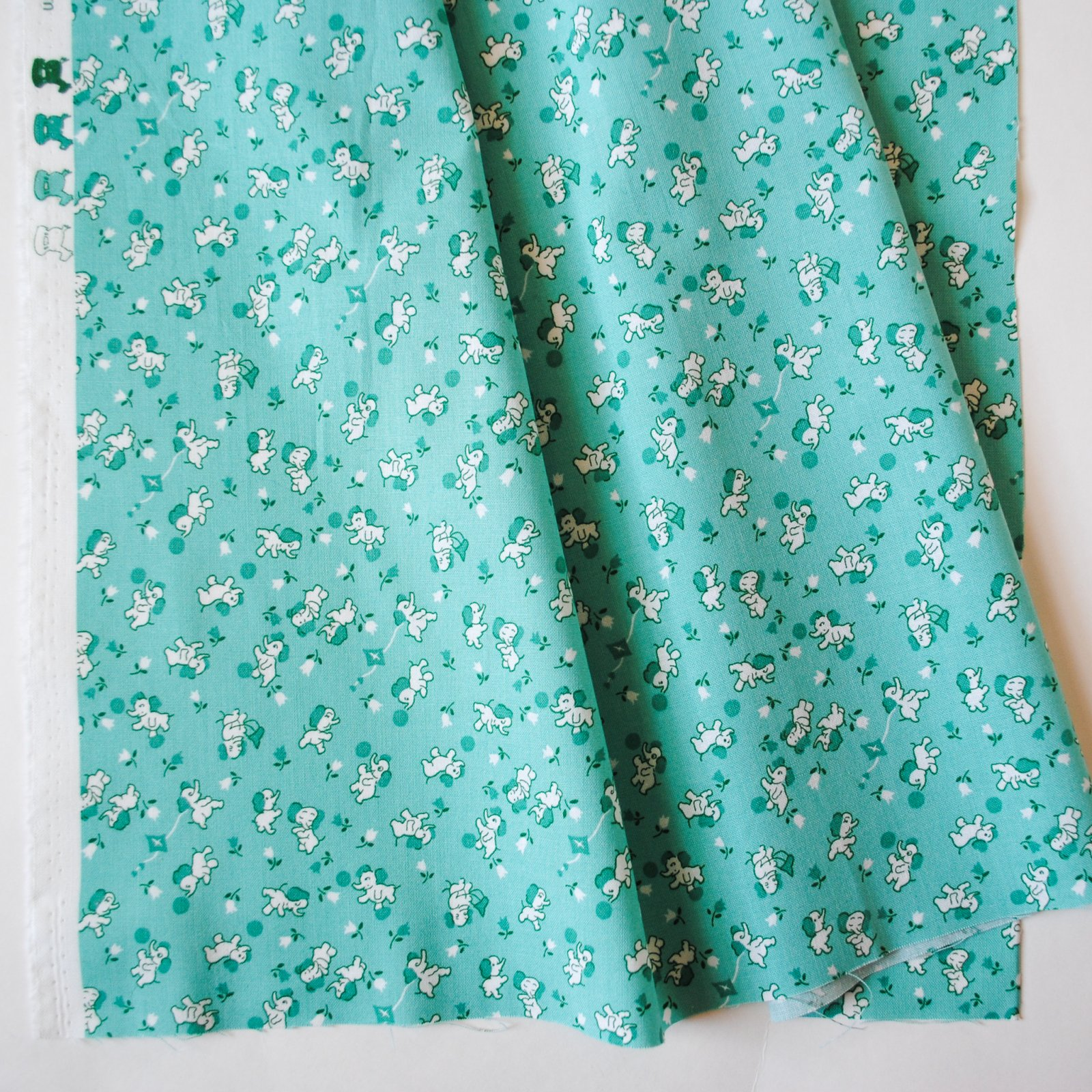 Storytime 30s Elephants Teal