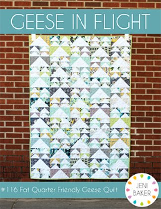 Geese in Flight Quilt Pattern by Jeni Baker