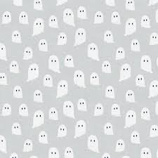 Halloween Night Ghost Grey