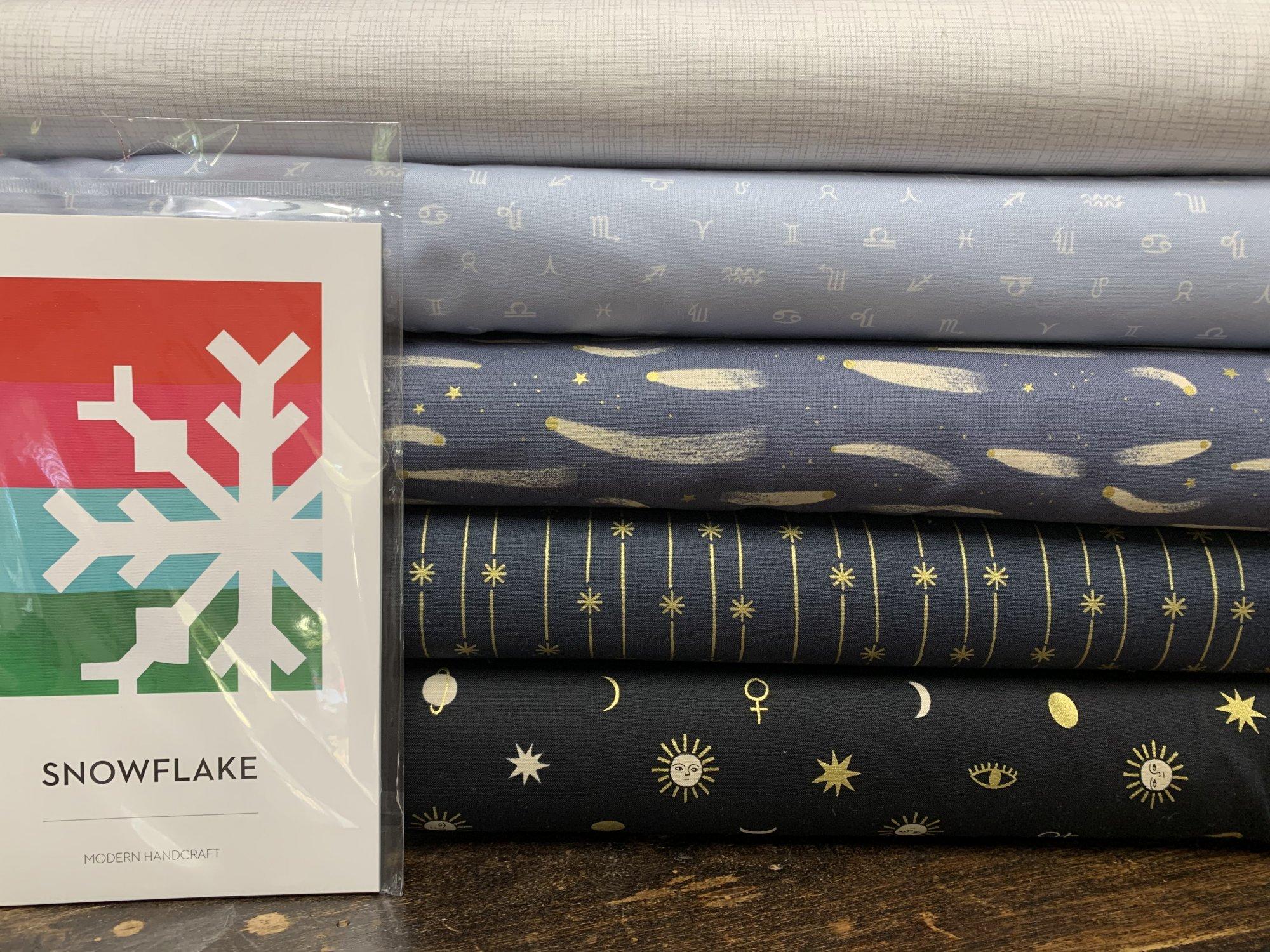 Snowflake Sew 4-Color Bundle