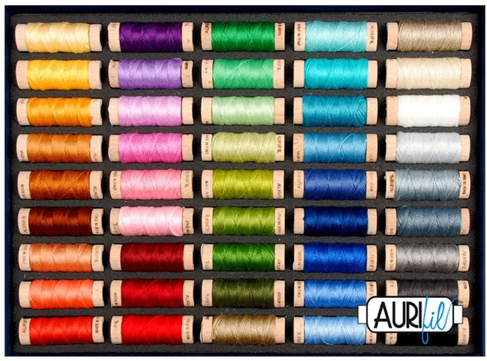 Aurifil Bestselling Floss 45 piece set