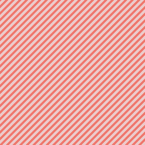 Petits Strokes Coral from Les Petits designed by Amy Sinibaldi for AGF