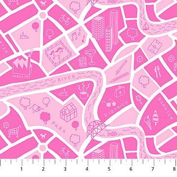 Pink Map