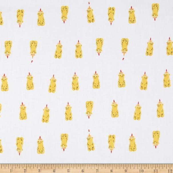 Yellow Honey Bears