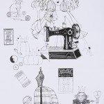 A Ghastlie Craft Black and White