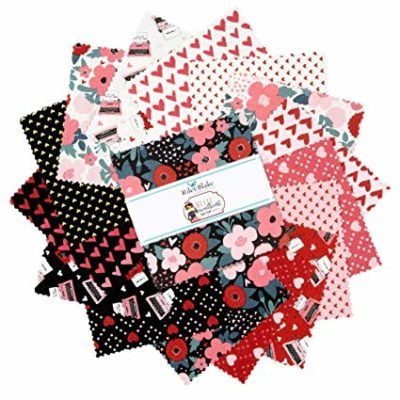 Hello Sweetheart 5in Squares, 42 Pcs