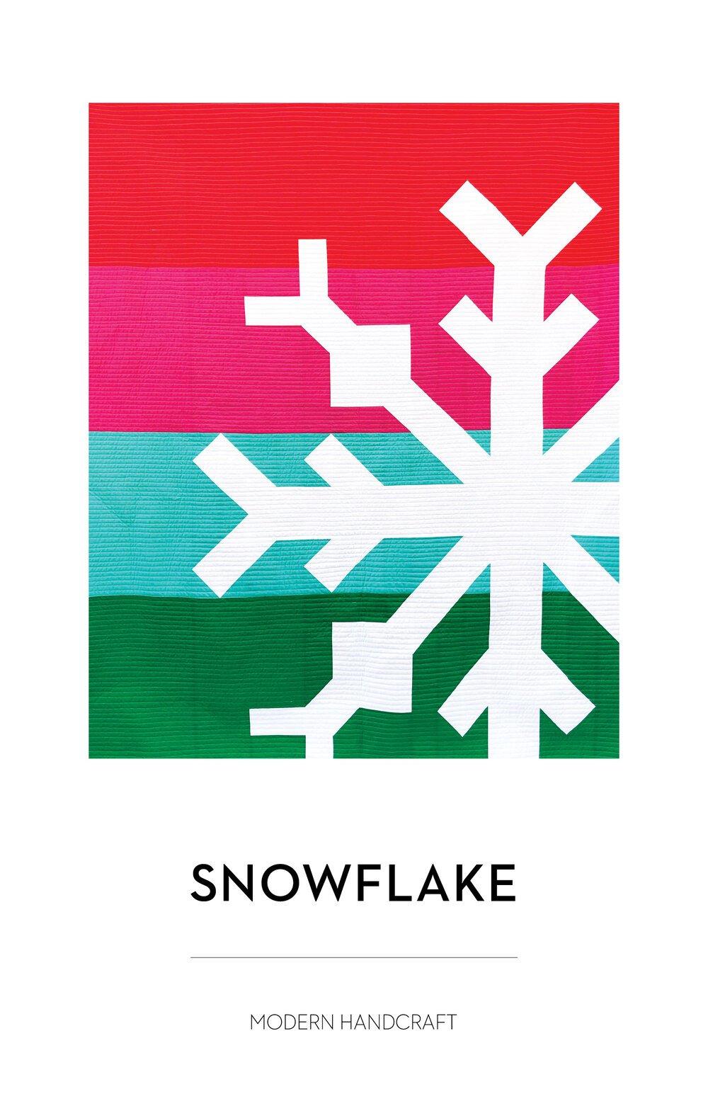Snowflake Sew Along 4-Color Bundle