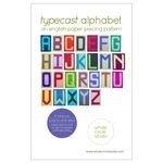 Typecast Alphabet Quilt Pattern