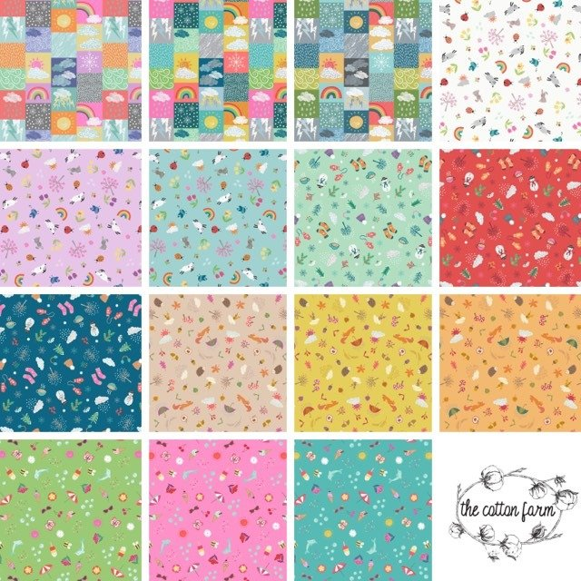 Whatever the Weather Fat Quarter Bundle