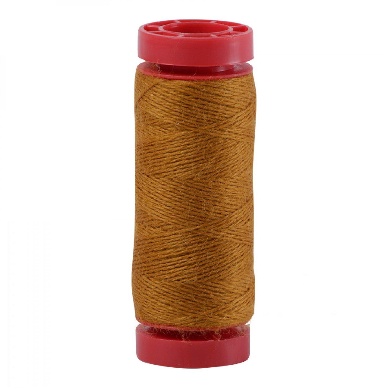 Aurifil 12wt Lana Wool Thread - 8140 Dark Mustard