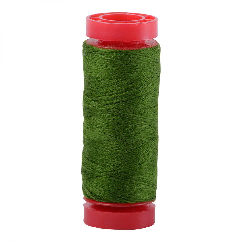 Aurifil 12wt Lana Wool Thread - 8962 Darker Grass Green