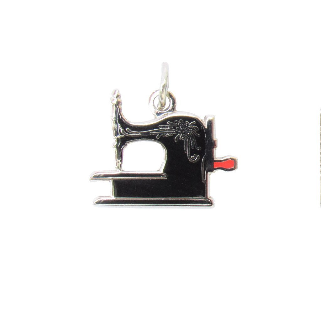 Antique Sewing Machine Charm