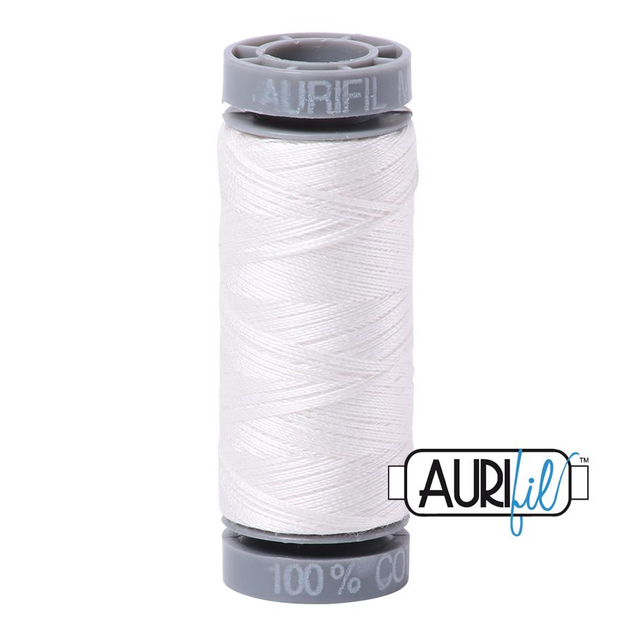 Aurifil 28wt Cotton Thread - 2021 Natural White