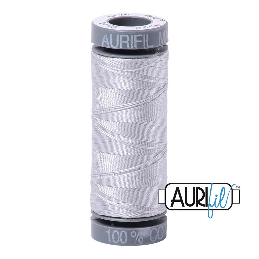 Aurifil 28wt Cotton Thread - 2600 Dove
