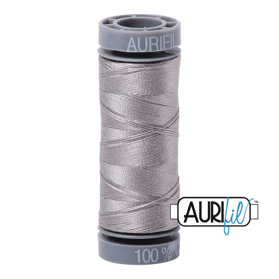 Aurifil 28wt Cotton Thread - 2620 Stainless Steel