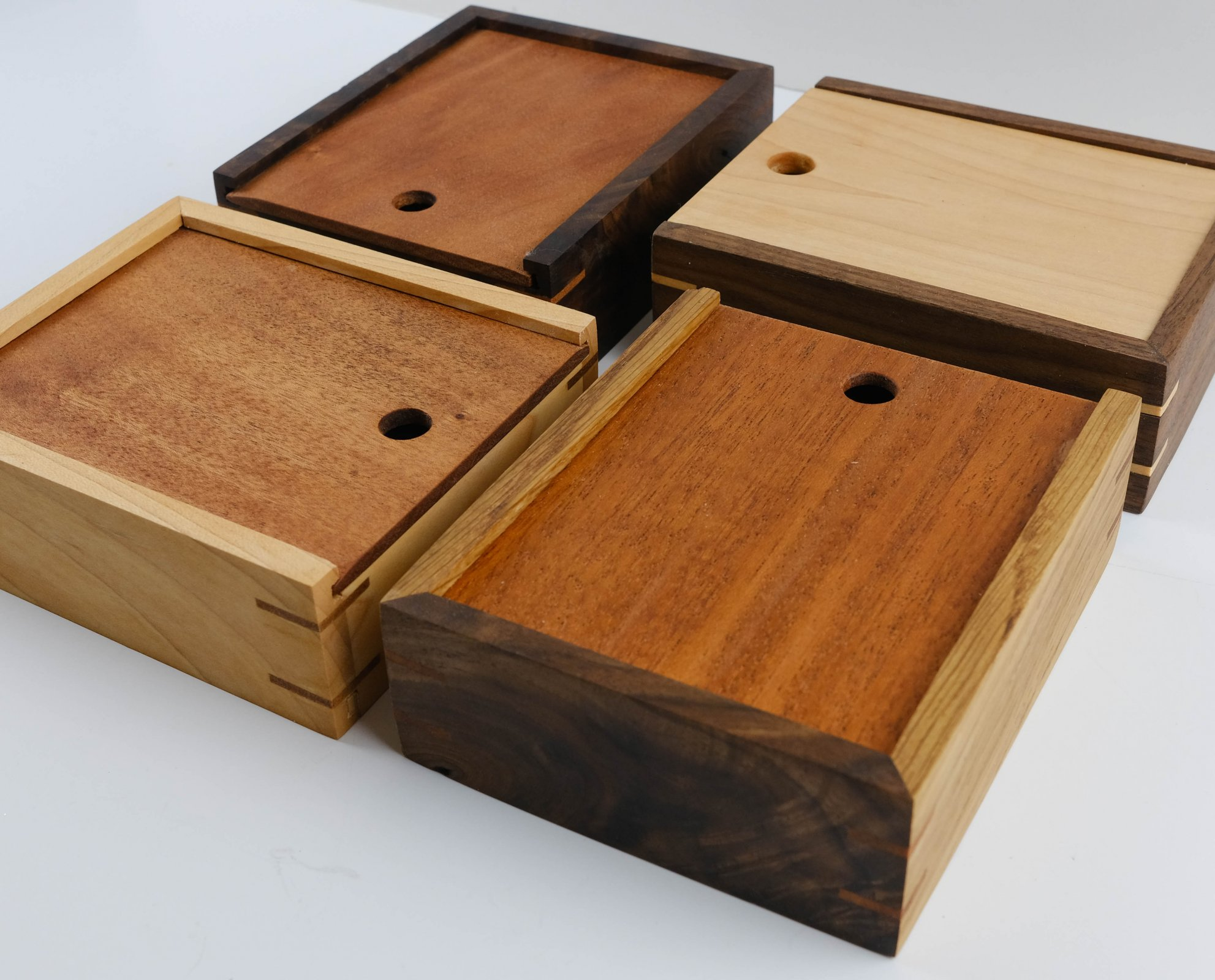 Handcrafted Sewing Boxes