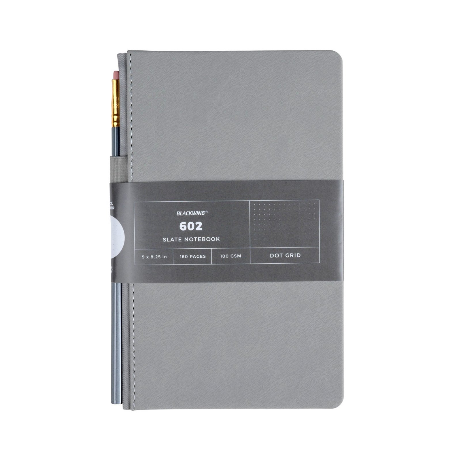 Blackwing 602 Gray Slate Journal - Blank Pages