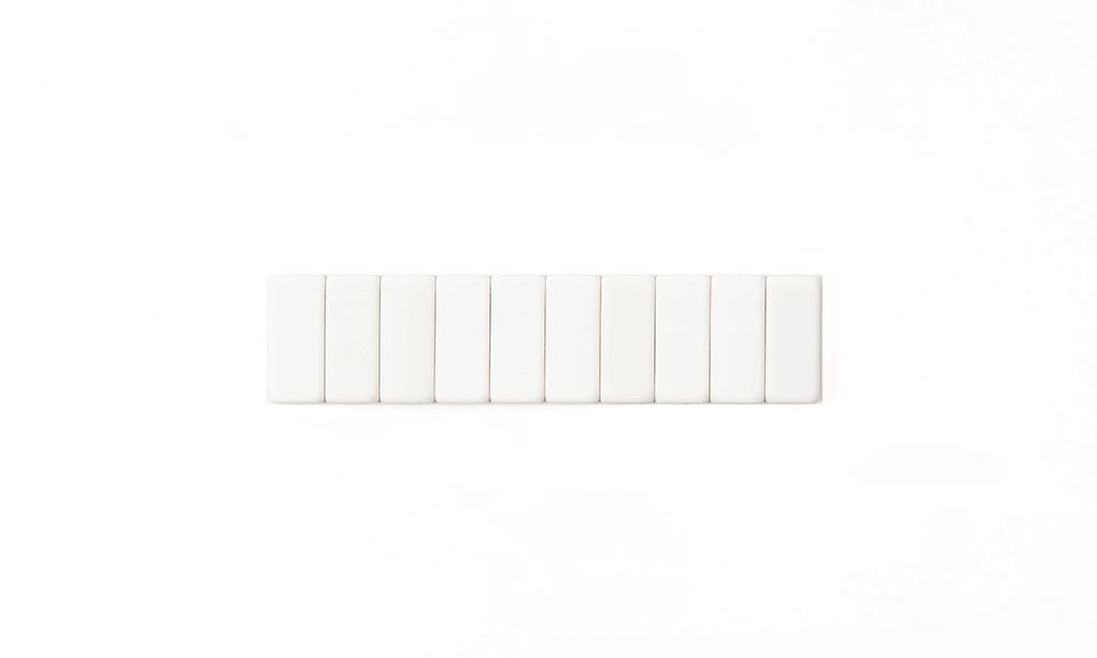 Blackwing Replacement Erasers 10ct in White