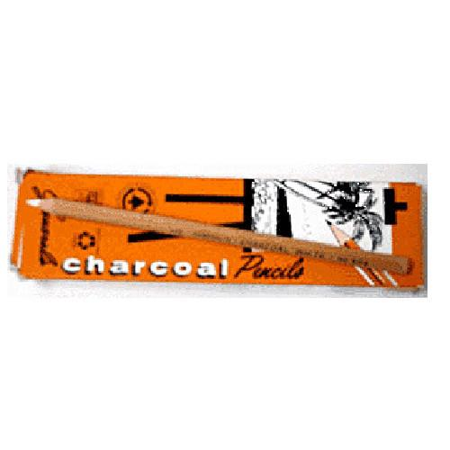 White Charcoal Pencil by General's