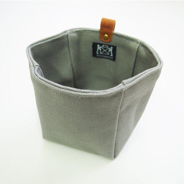 Canvas Knickknack Bag in Gray