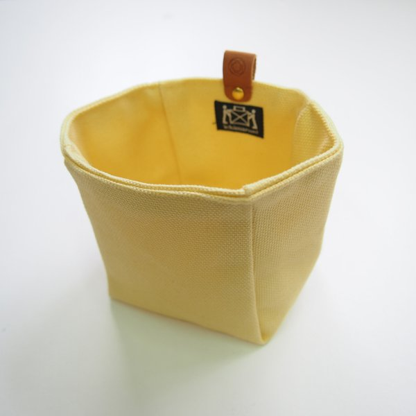 Canvas Knickknack Bag in Yellow