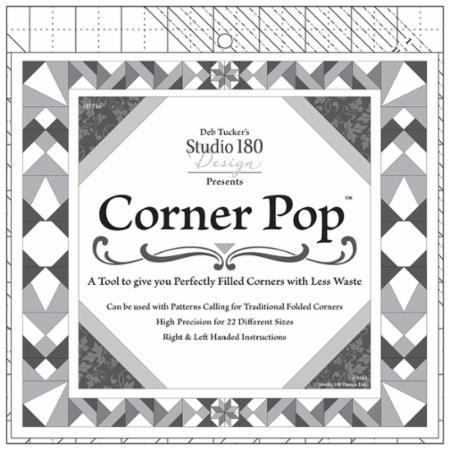 Corner Pop Ruler by Deb Tucker
