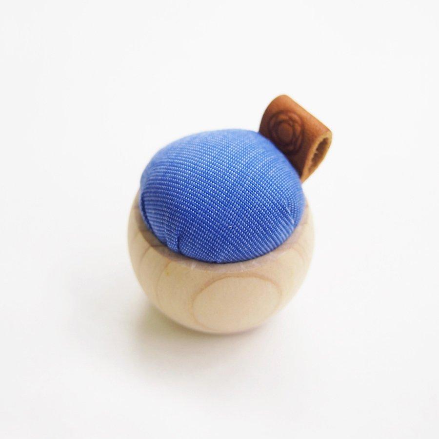 Cypress & Banshu Pin Cushion in Blue