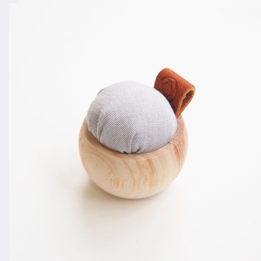 Cypress & Banshu Pin Cushion in Gray