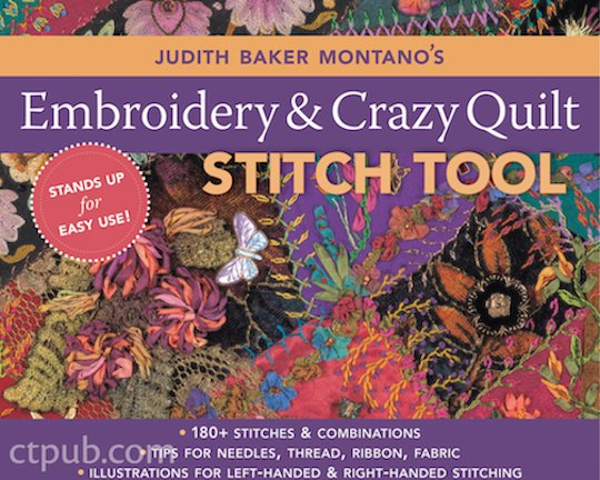 Embroidery & Crazy Quilt Stitch Tool by Judith Baker Montano