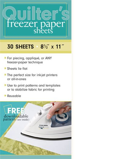 Quilter's Freezer Paper Sheets 30ct