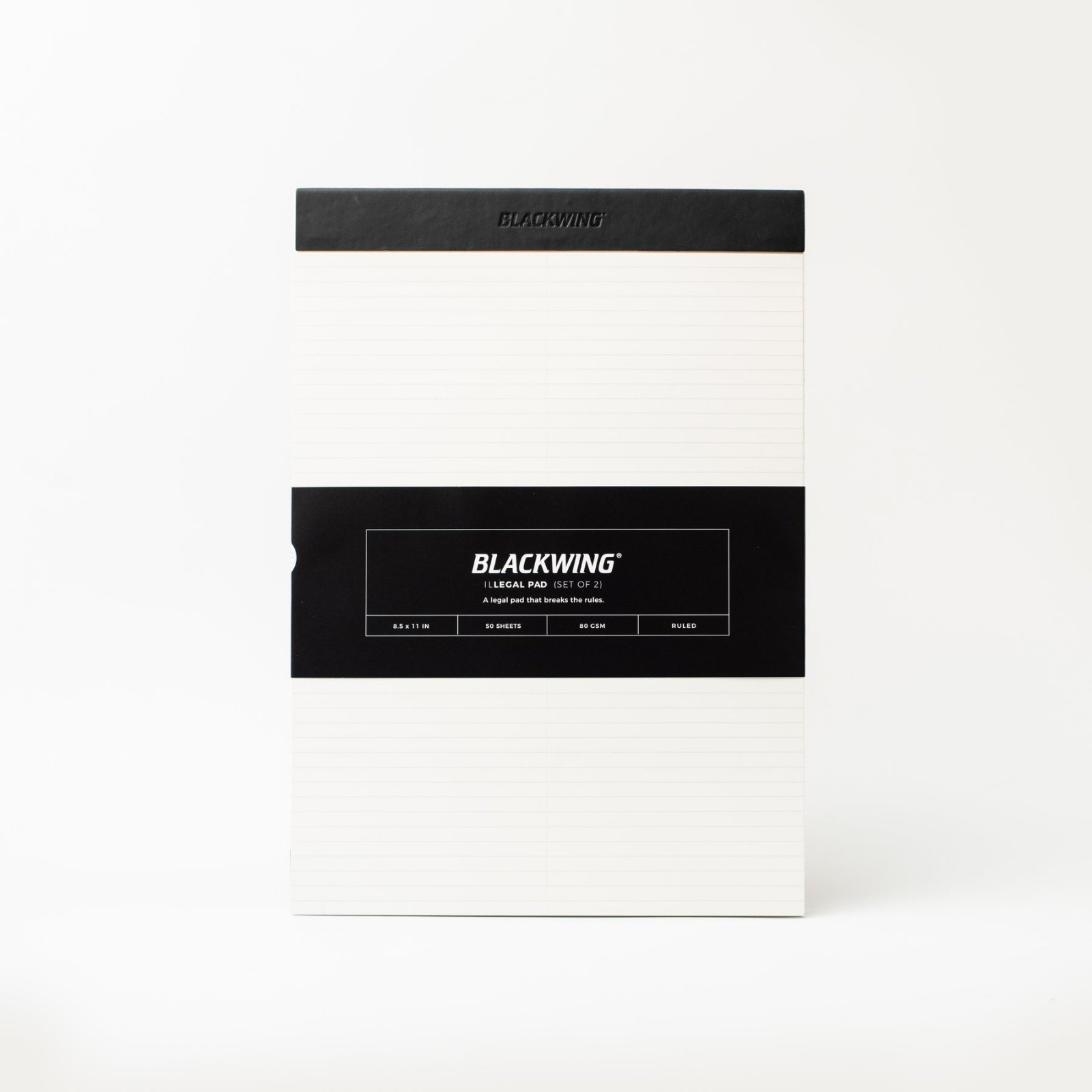 Blackwing Illegal Pad - Set of 2 - Ruled Pages