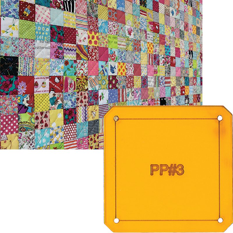 Postcard Project #3: Scrappy Squares from Jen Kingwell Designs