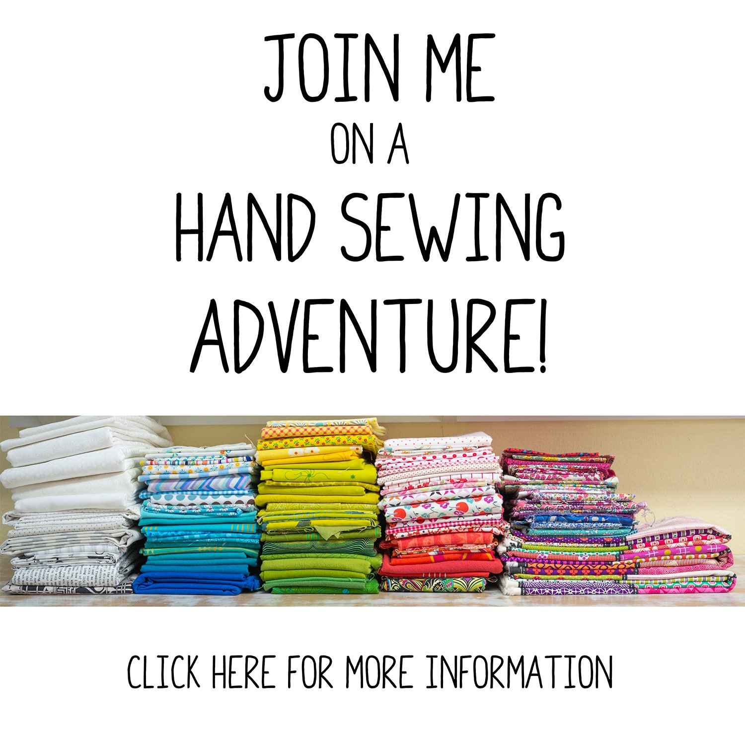 Hand Sewing Adventure - Downloadable Patterns, Lessons & Community