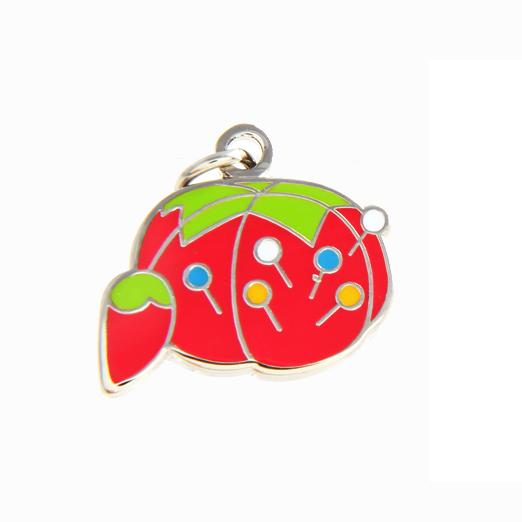 Tomato Pin Cushion Charm