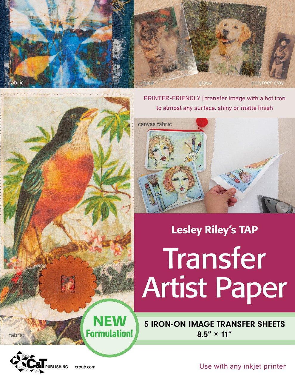 TAP Transfer Artist Paper 5-Sheet Pack