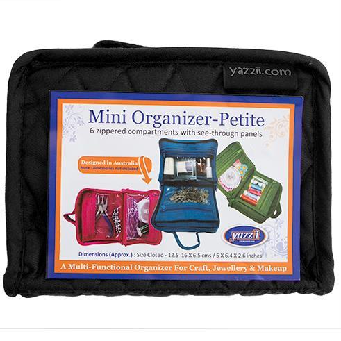 Yazzii Petite Mini Organizer - Black