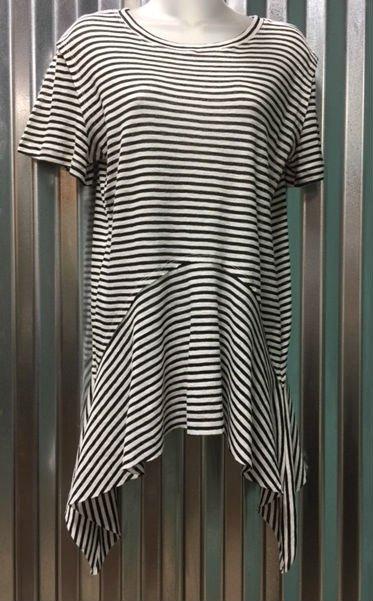 L love Ruffle Stripe T-Shirt
