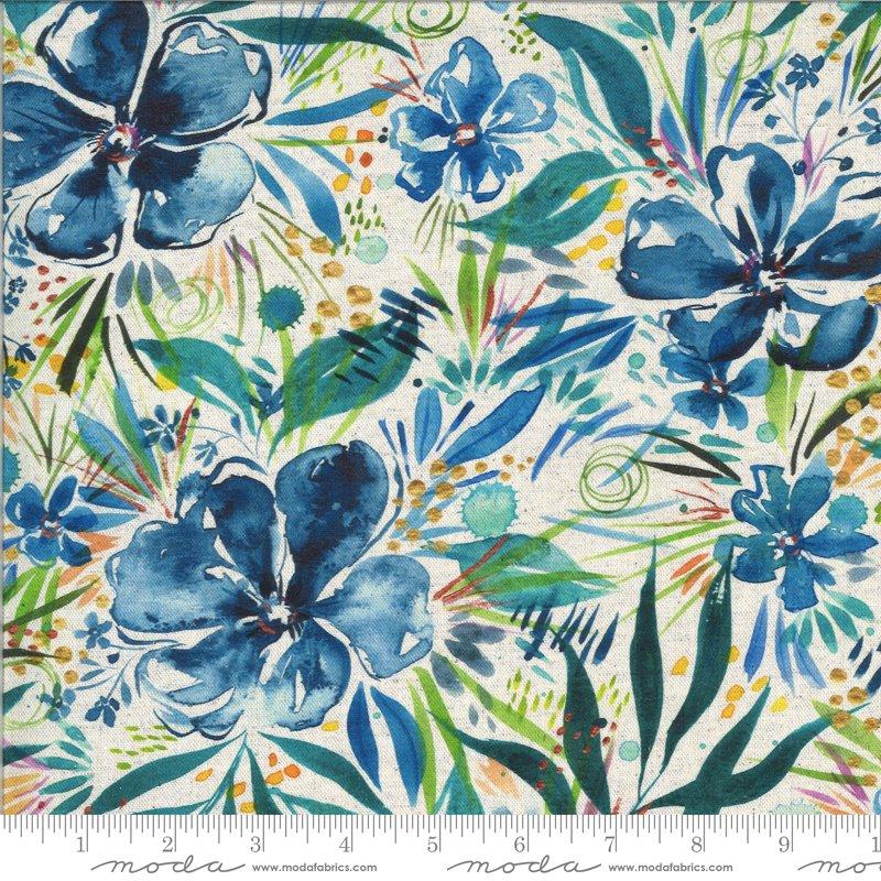 Moody Bloom  Linen