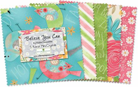 Believe You Can 5 Squares Charm Pack