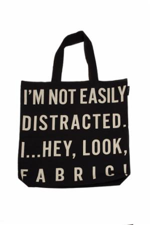 I'm Not Easily Distracted Tote Bag