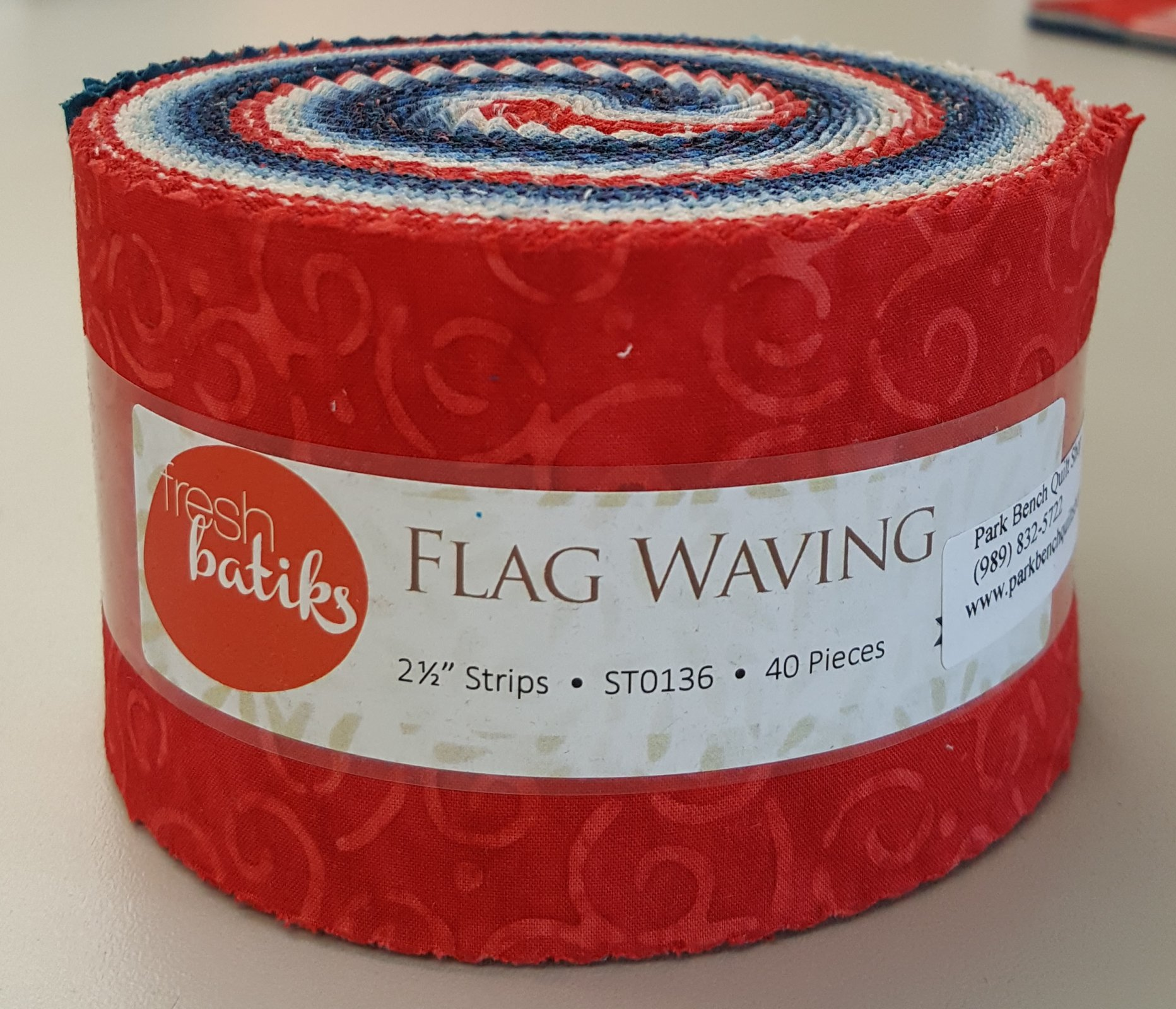 Flags Waving Jelly Roll