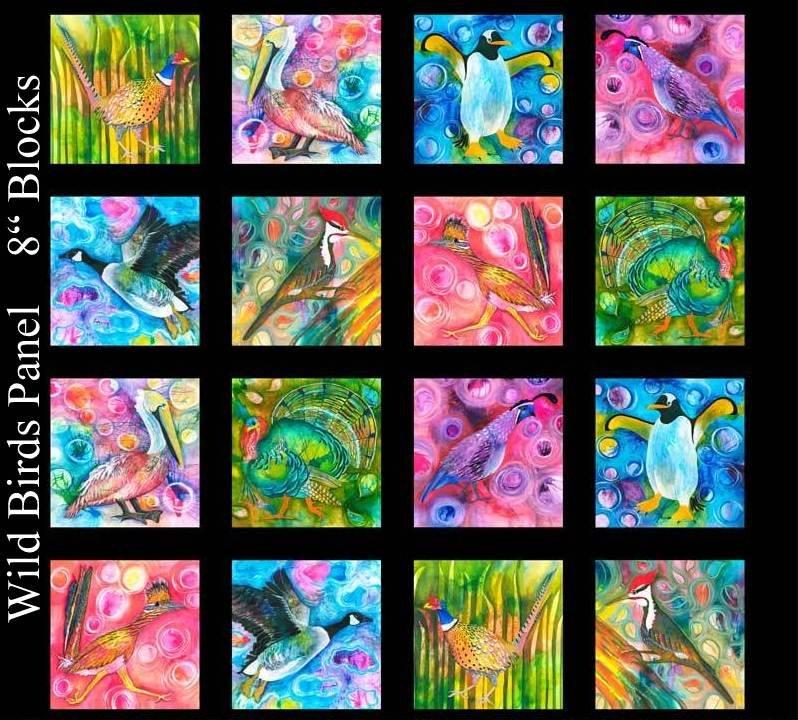Wild Birds Panel