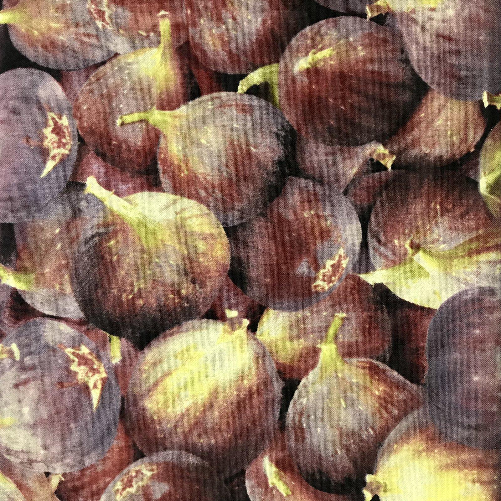 Farmers Markets Figs by RJR Fabrics 8880 PLUM