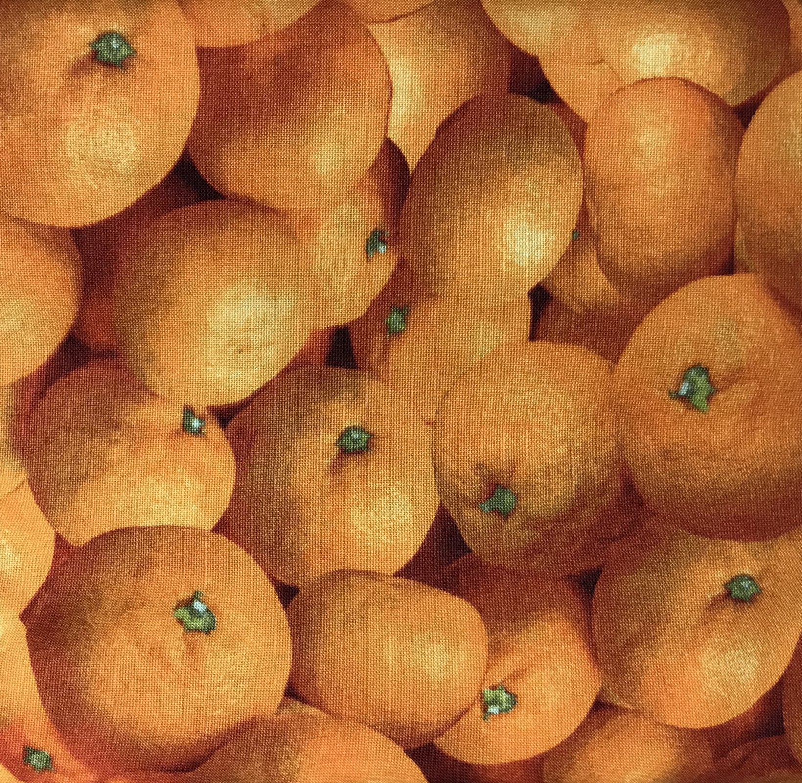 Farmers Market Oranges by RJR Fabrics 0886 ORANGE