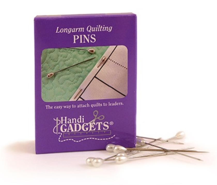 HQ Longarm Quilting Pins (Box of 144)