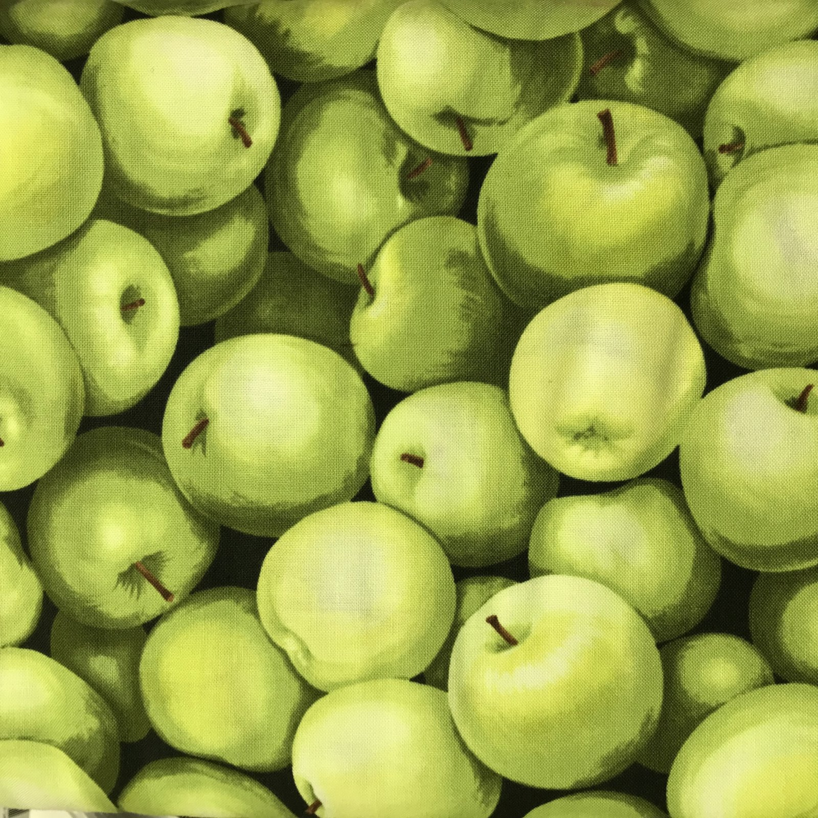 Green Apples by Timeless Treasures Fabrics C 8651 FOOD