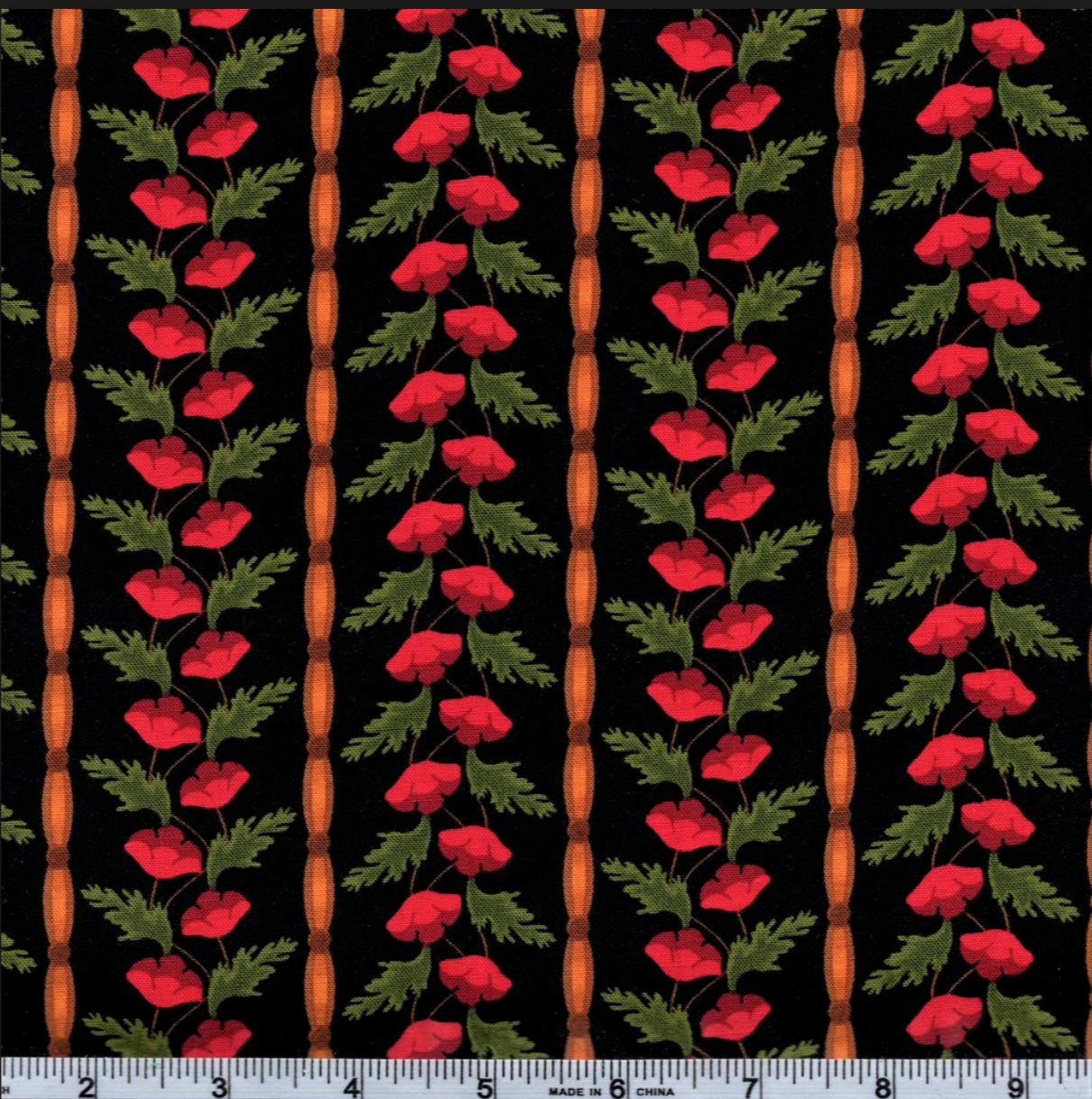 Positively Poppies by Blank Quilting BTR6418 RED