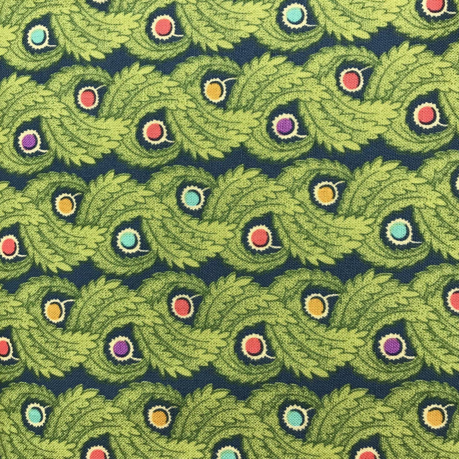 Liberty Art Fabric LB14 GREEN
