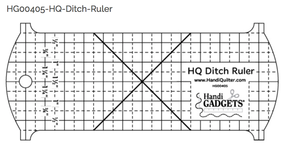 HQ Ditch Ruler